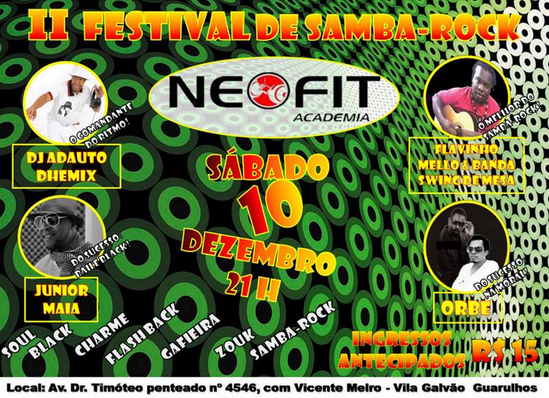II Festival de Samba Rock na Neofit