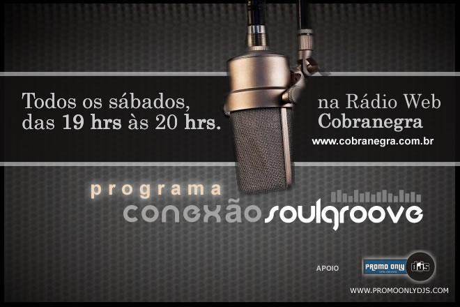 Conexão Soul Groove na rádio Cobranegra