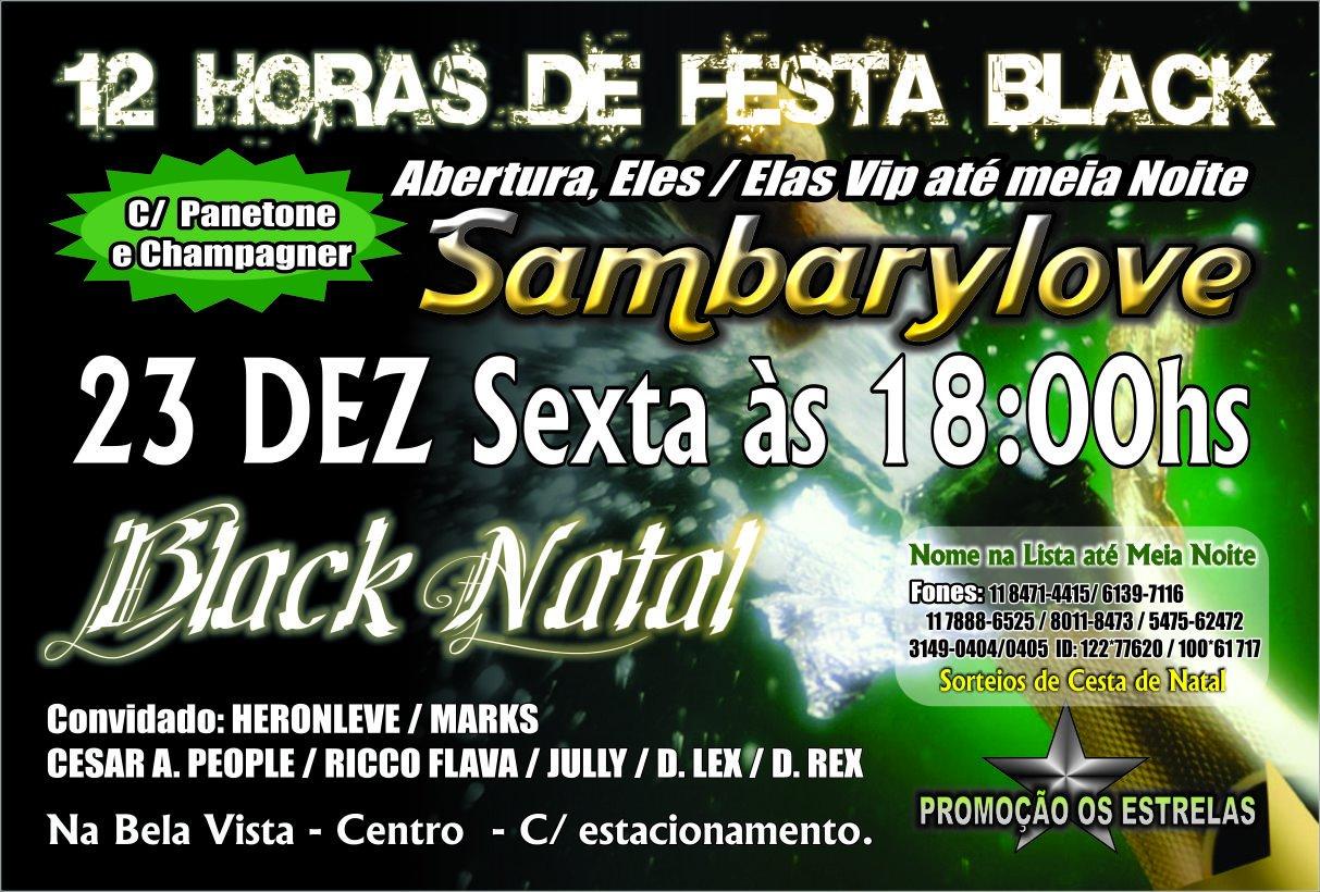 12 horas de festa no Sambarylove e muito samba rock