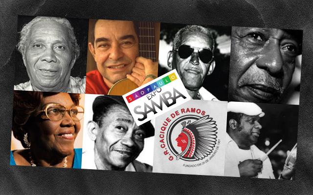 Concursos de Sambas Inéditos seguido de shows na Expo Samba