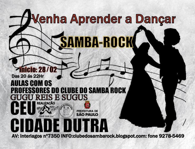 Aulas de samba rock em Interlagos – Zona sul