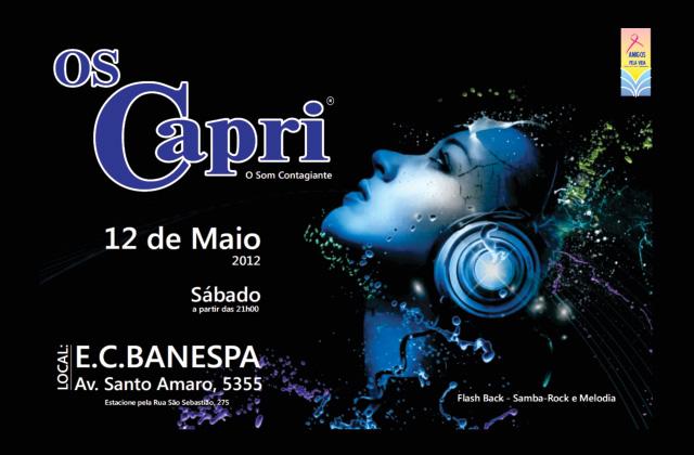 Baile Os Capri acontece em maio no Banespa