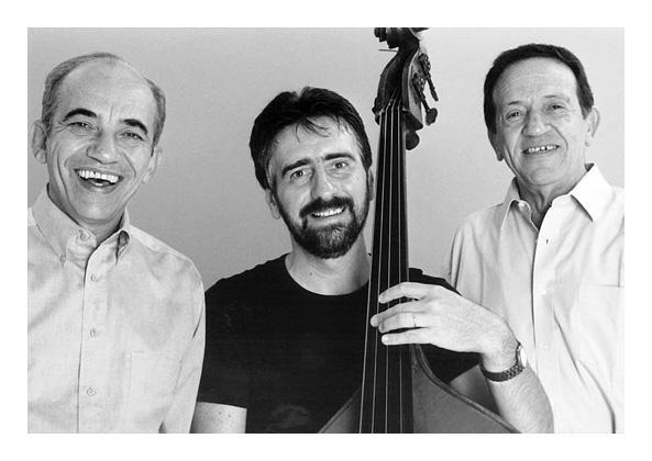 Zimbo Trio faz show de graça nesta sexta