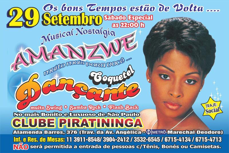 Em setembro acontece o Musical Nostalgia da equipe Amanzwe