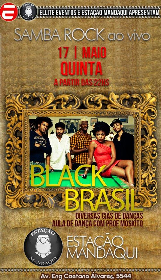 Estação Mandaqui recebe show da banda Black Brasil
