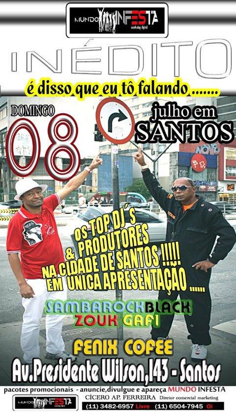 Em julho DJ Adauto Dhemix e DJ Tadeu tocam em Santos