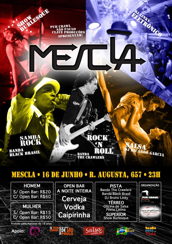 Festa Mescla vem aí repleta de atrações e samba rock
