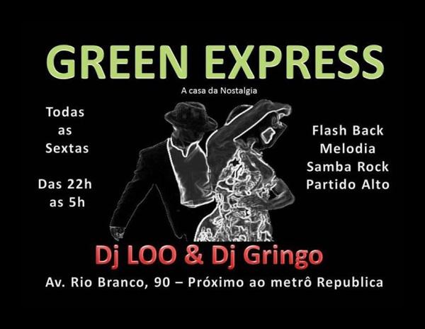 Toda sexta-feira tem baile no Green Express #nota