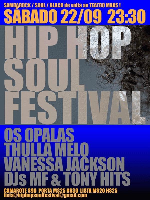 Grande festa no Mars com Os Opalas, Vanessa Jackson e atrações #nota
