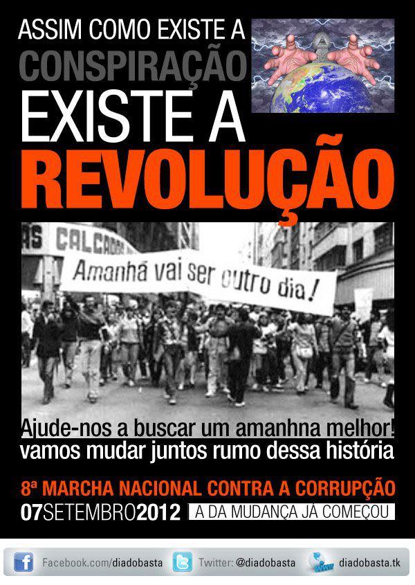 8ª Marcha Nacional Contra a Corrupção #nota