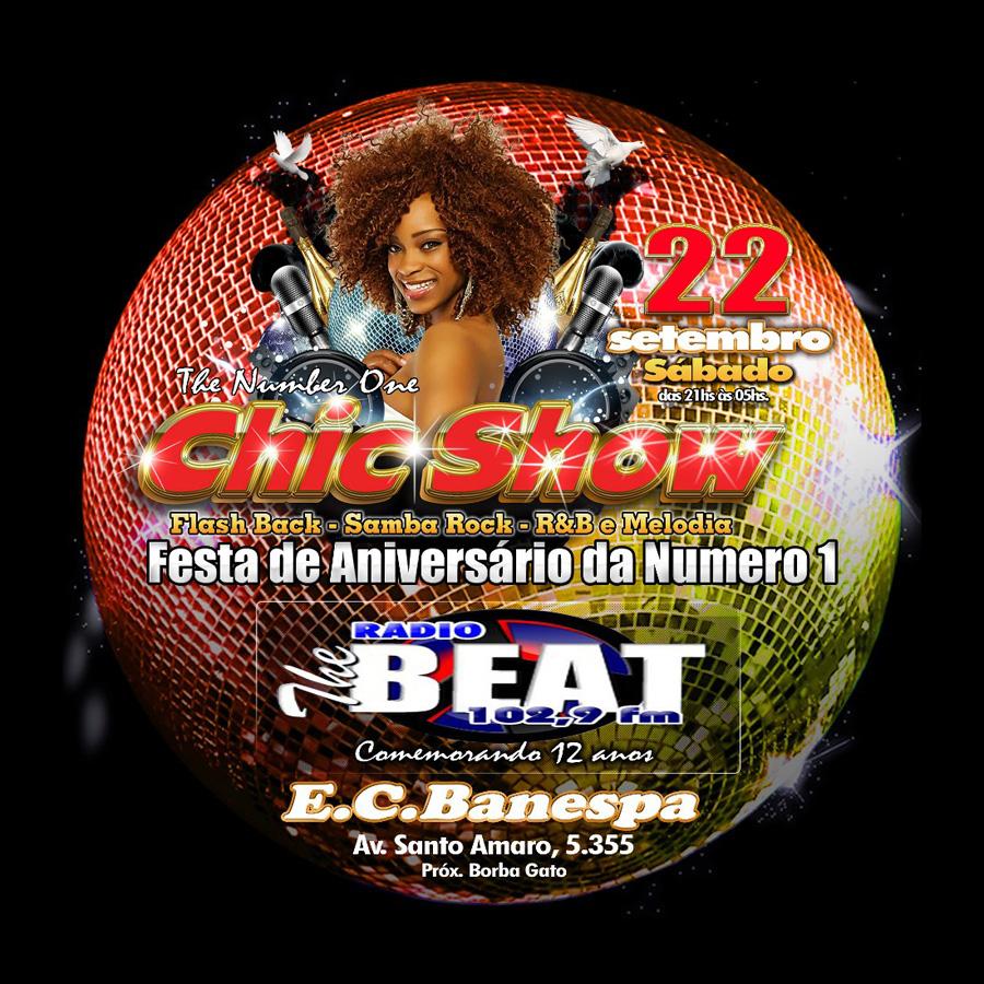 Festa de aniversário da Chic Show no E. C. Banespa #nota