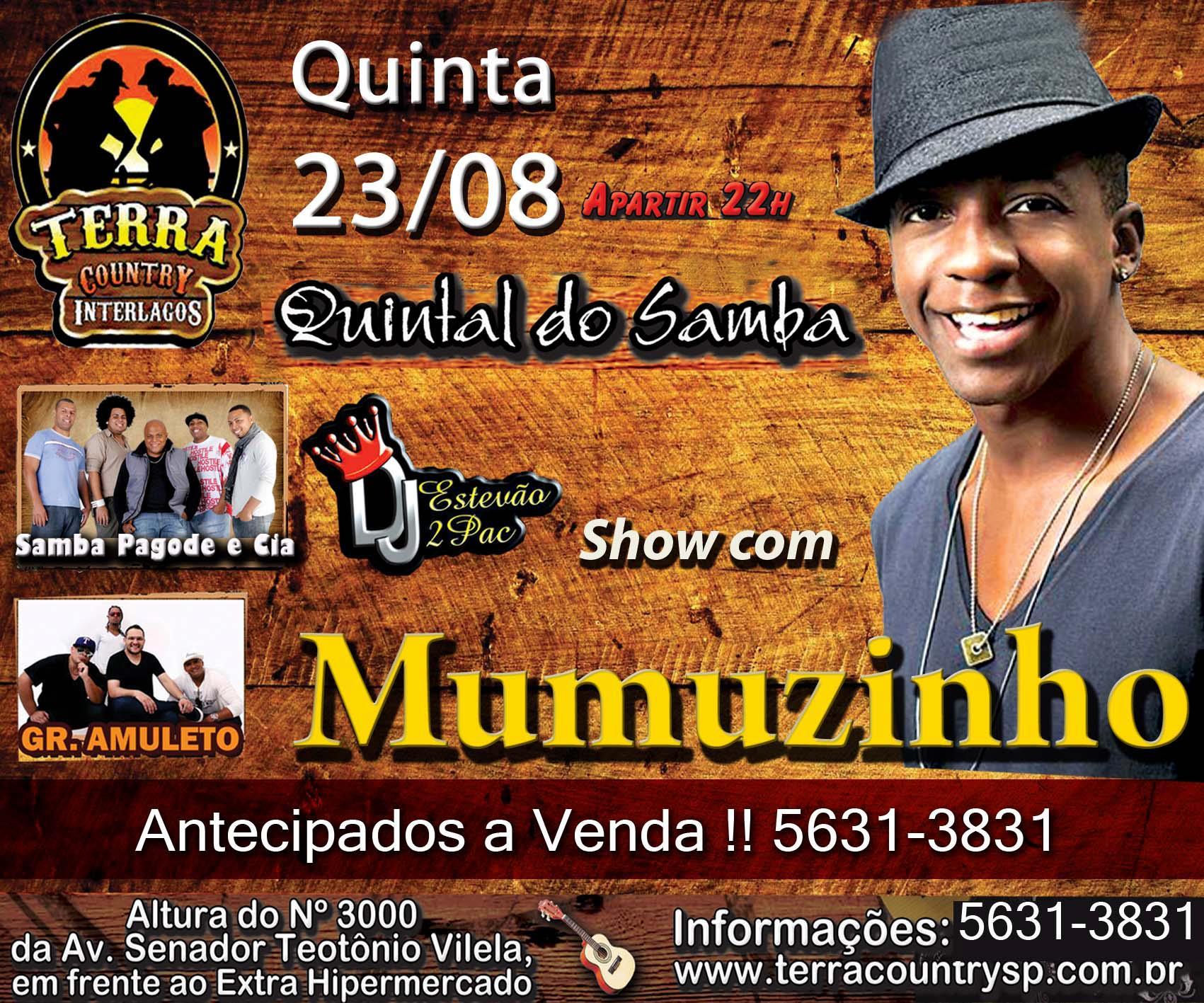Quintal do Samba com Mumuzinho e DJ Estevão 2Pac #nota