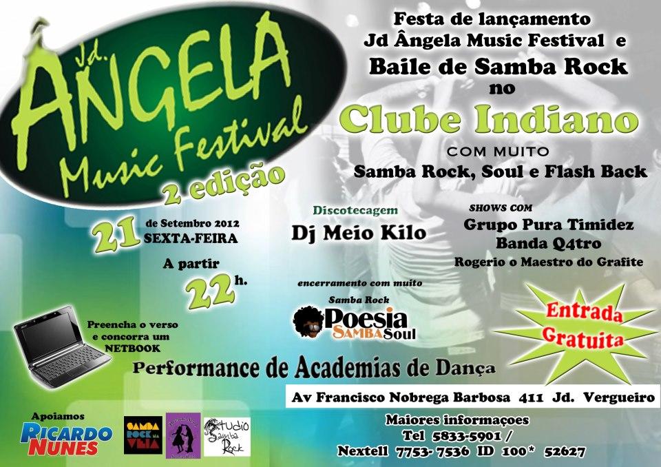 Jardim Ângela Music Festival no Clube Indiano #nota