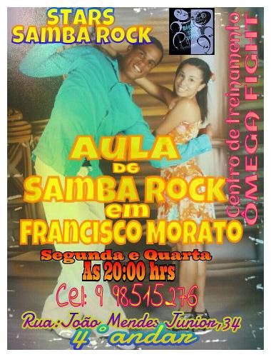 Aulas de samba rock em Francisco Morato #nota