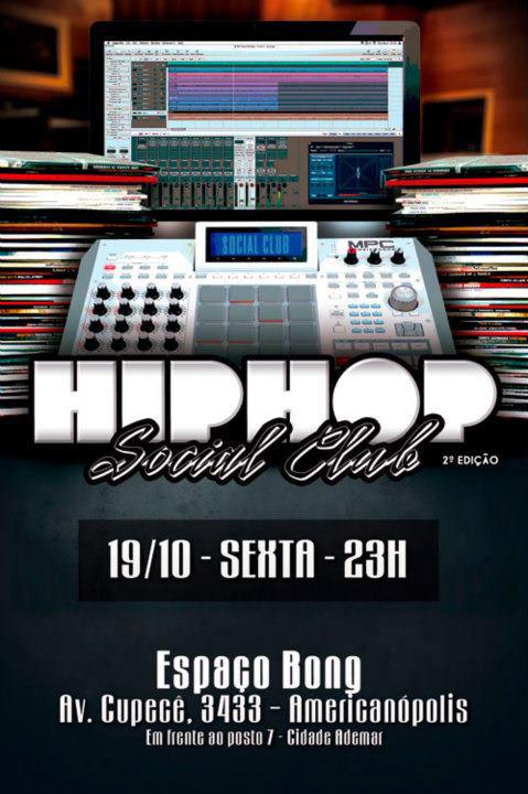 Vem aí a 2ª edição do Hip Hop Social Club com muito samba rock #nota