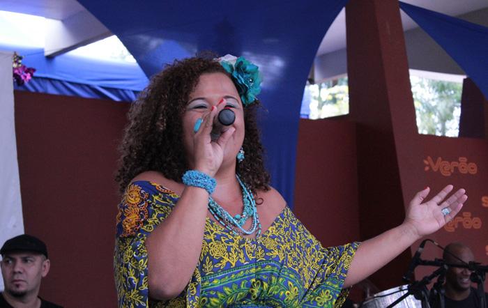 O samba invade a Olido toda terça na voz de Jurema Pessanha