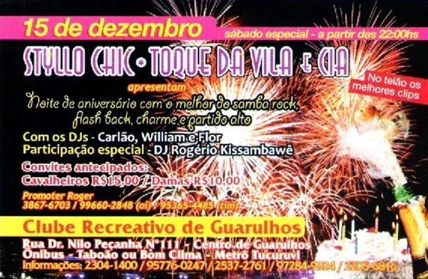 Styllo Chic e Toque de Vila realizam grande baile neste sábado #nota