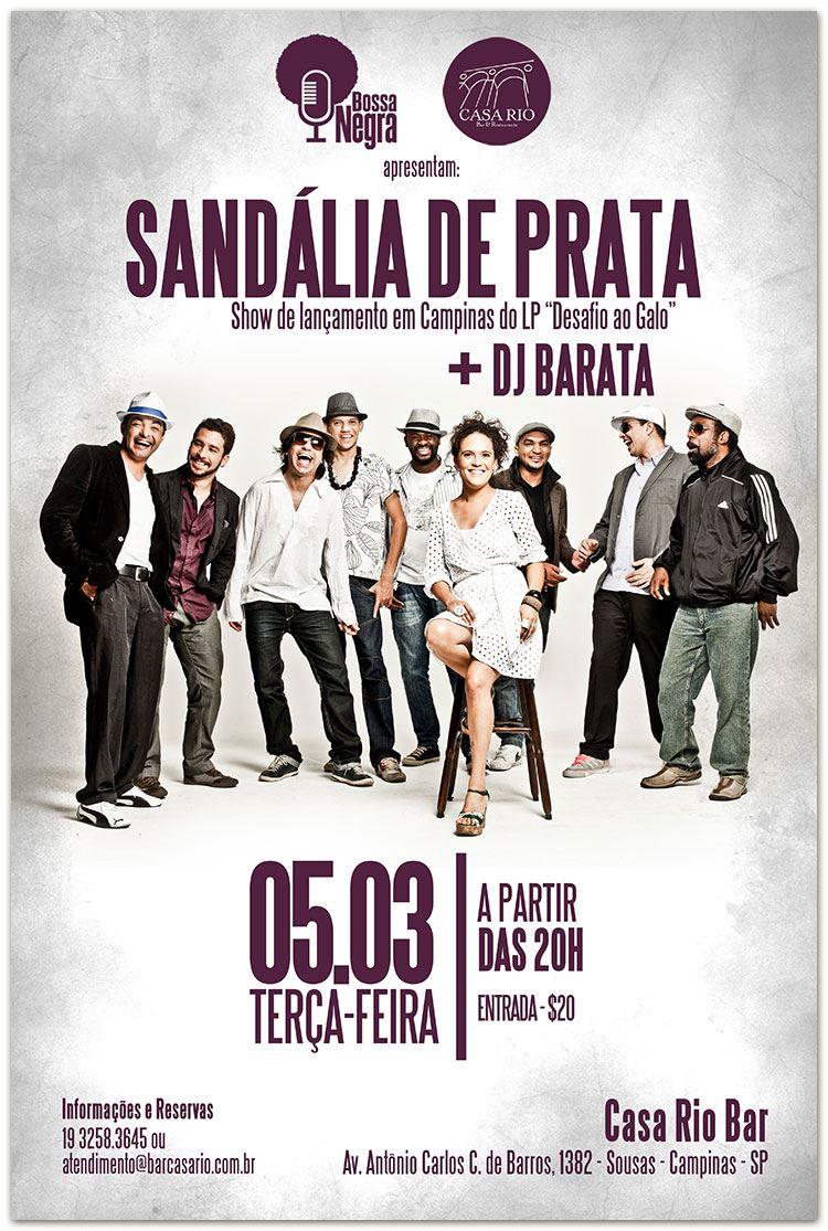 Sandália de Prata faz show em Campinas #nota