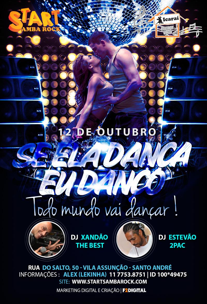 Star Samba Rock realiza Se Ela Dança Eu Danço neste sábado