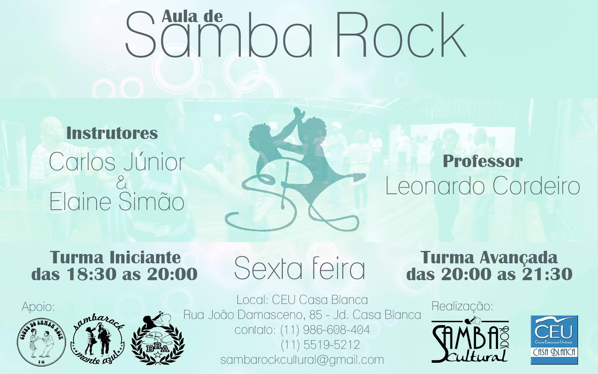 CEU na zona sul de Sampa tem aula grátis de samba rock #nota