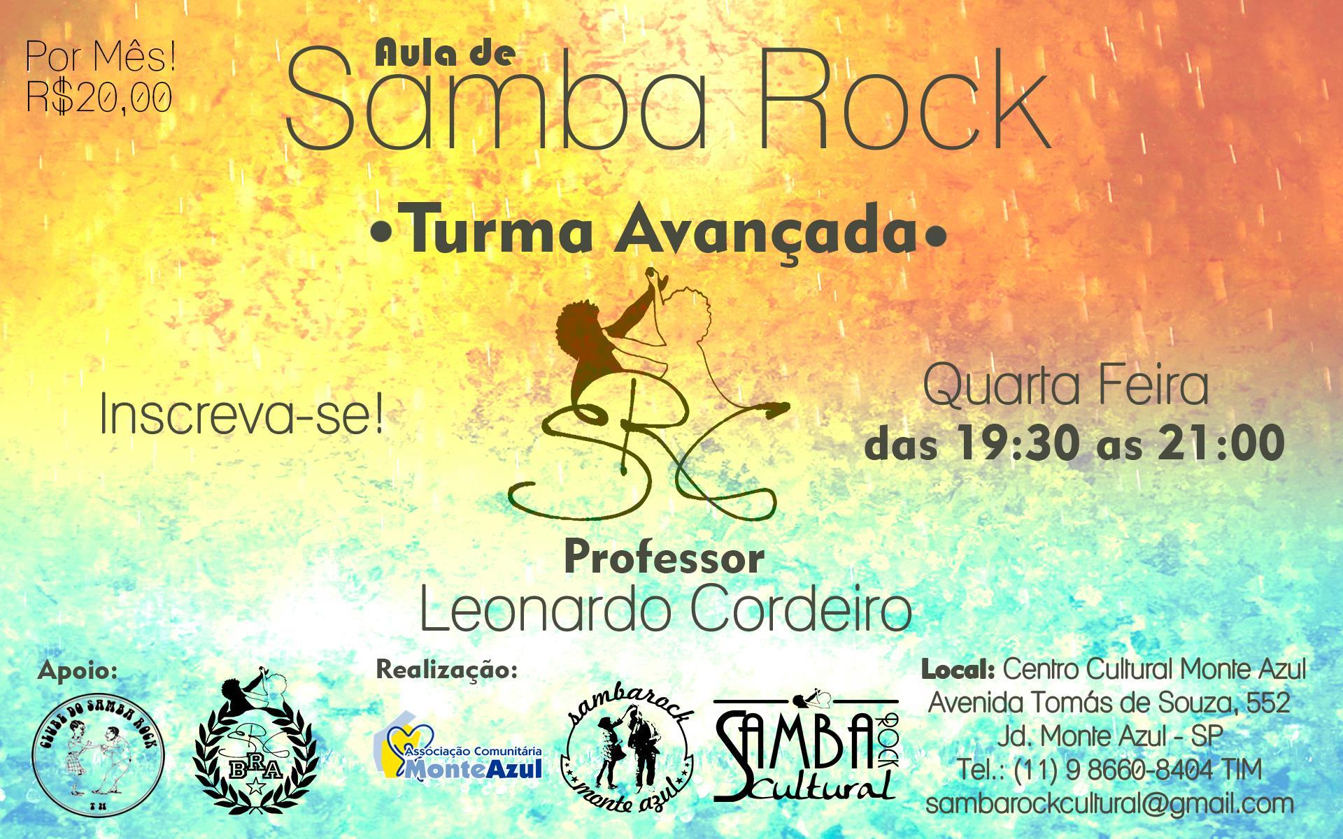Faça aulas de samba rock no Centro Cultural Monte Azul #nota