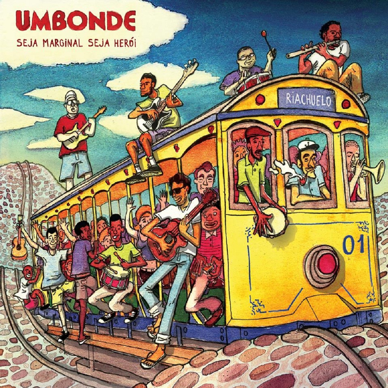 Som na caixa | Escute e baixe o disco da Umbonde Banda