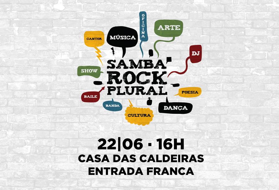 Junho tem Samba Rock Plural no TodoDomingo na Casa das Caldeiras