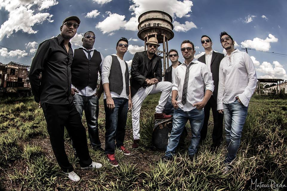 Show de samba rock com Nego Dito no SESC Santo Amaro