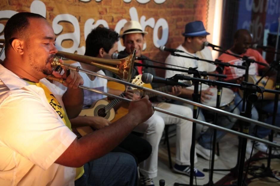 Tamanco Malandro faz show no SESC