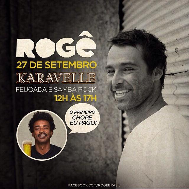 Rogê leva samba rock ao sábado com feijoada do Karavelle #nota