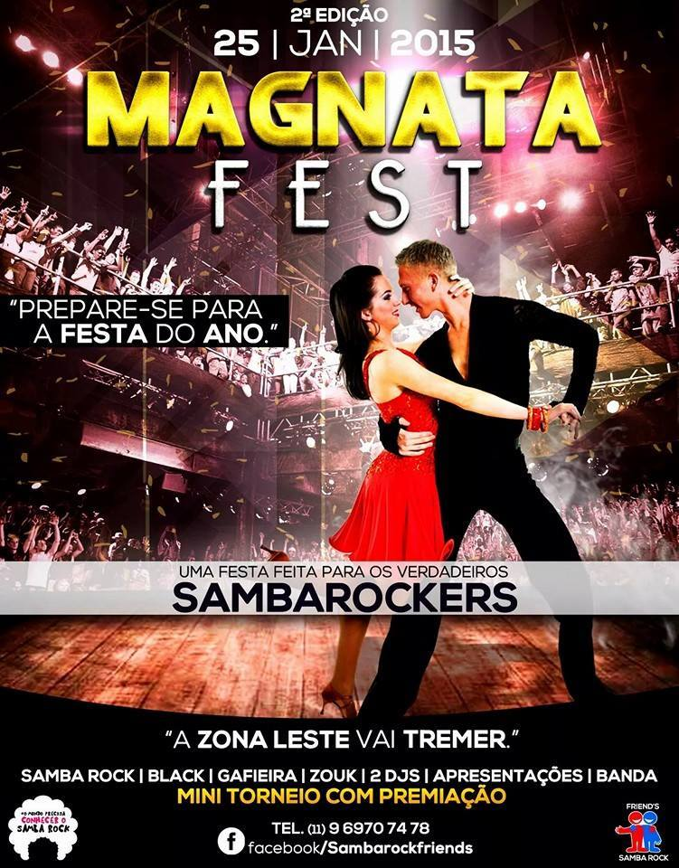 Vem aí Magnata Fest em janeiro de 2015 #nota