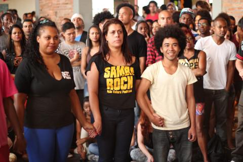 À direta o casal vencedor da Rinha de Dançarinos - Foto: Samba Rock Na Veia