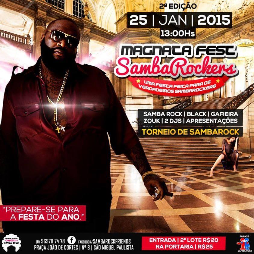 Magnata Fest SambaRockers se aproxima #nota