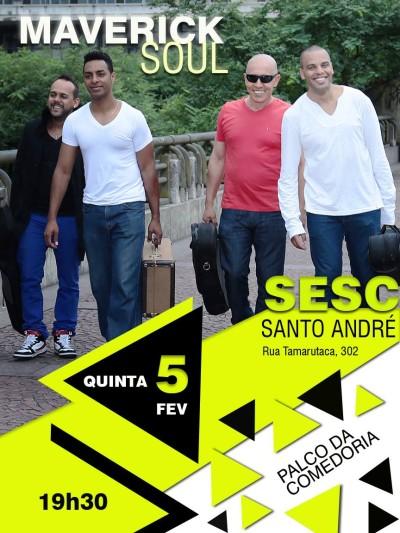 Maverick Soul faz show gratuito em Santo André #nota
