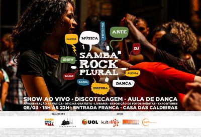 Primeiro Samba Rock Plural de 2015 vai encher a Casa das Caldeiras com muito balanço e charme