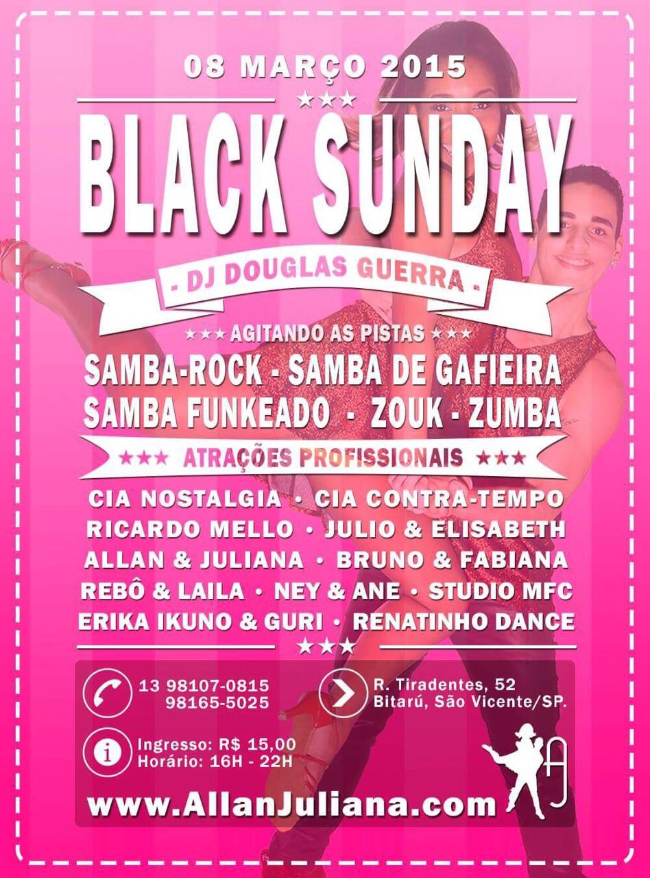 Black Sunday agita litoral de São Paulo #nota