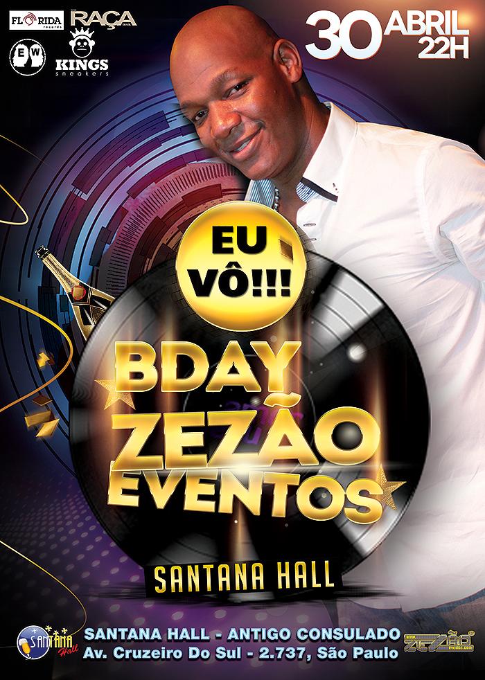 Aniversário do Zezão traz samba rock na programação e muita black music