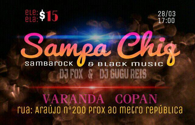 Sampa Chiq esquenta com samba rock o centro de SP #nota