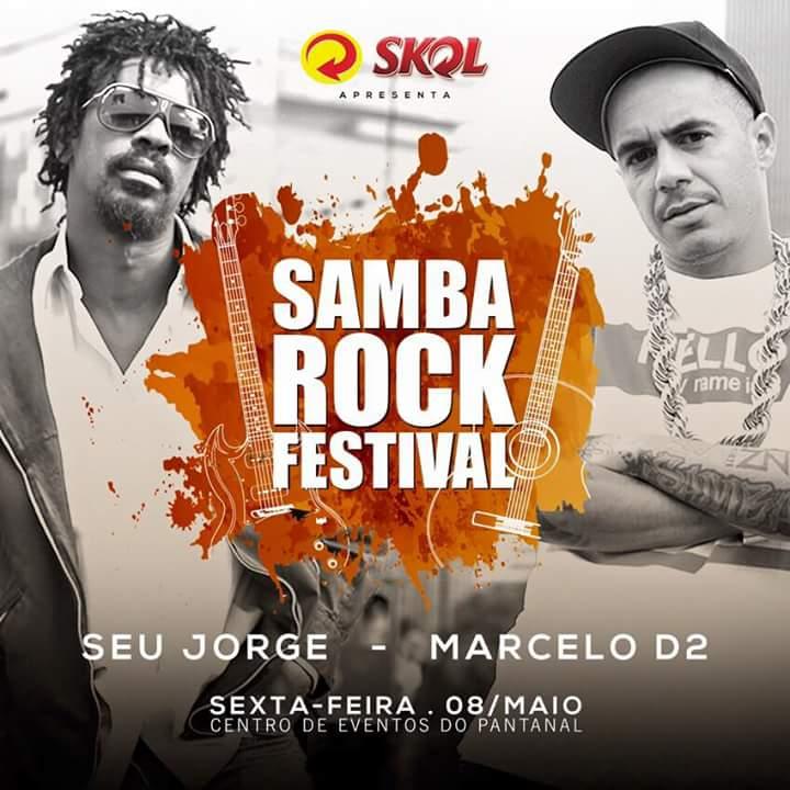 Samba Rock Festival traz Seu Jorge e Marcelo D2 como atrações principais #nota