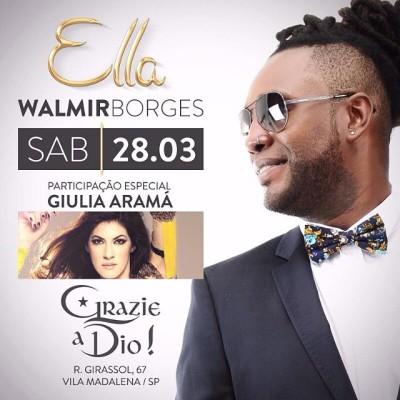 Grazie a Dio recebe Walmir Borges com participação especial #nota