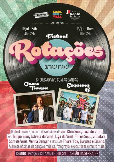 Festival Rotações celebra a música tocada em vinil e vertentes da cultura negra com muito samba rock na programação