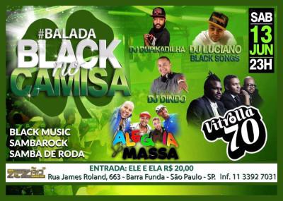 Zezão realiza Balada Black no Camisa com Vitrolla 70 e atrações #nota