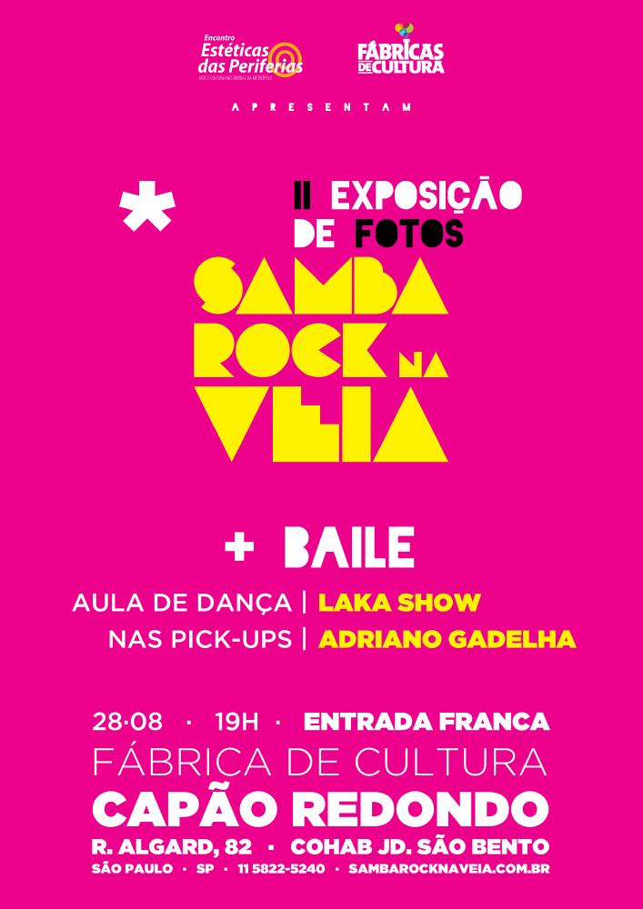 Samba Rock Na Veia lança nova exposição de fotos em baile no Capão Redondo pelo Estéticas das Periferias