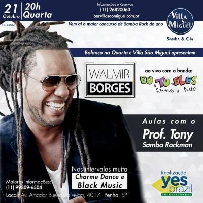 Balanço na Quarta traz ao palco Walmir Borges #nota