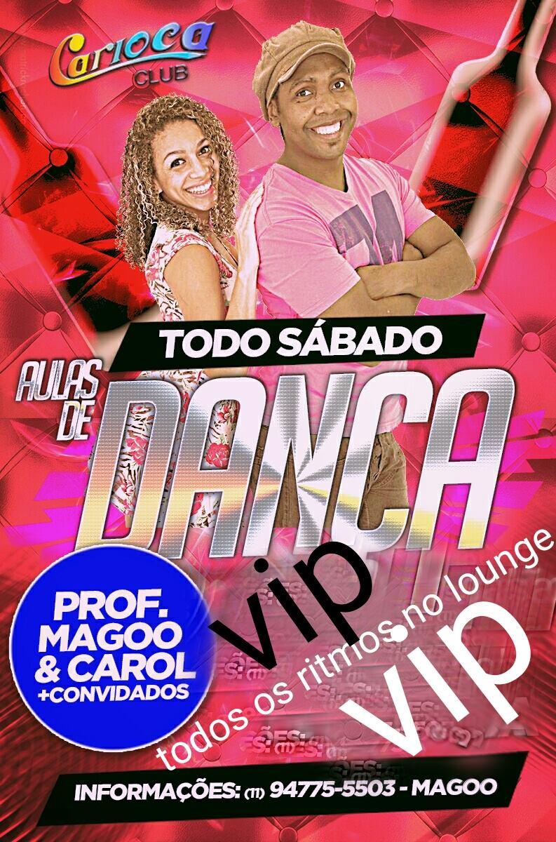 Professores Magoo e Carol esquentam os sábados do Carioca Club com aulas de dança e convidados #nota