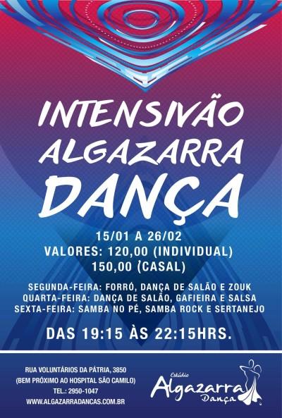 Faça aula de samba rock no Intensivão Algazarra Dança até fim de fevereiro #nota