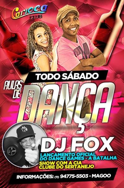 Samba rock marca presença no Carioca Club com Carol, Magoo e DJ Fox #nota