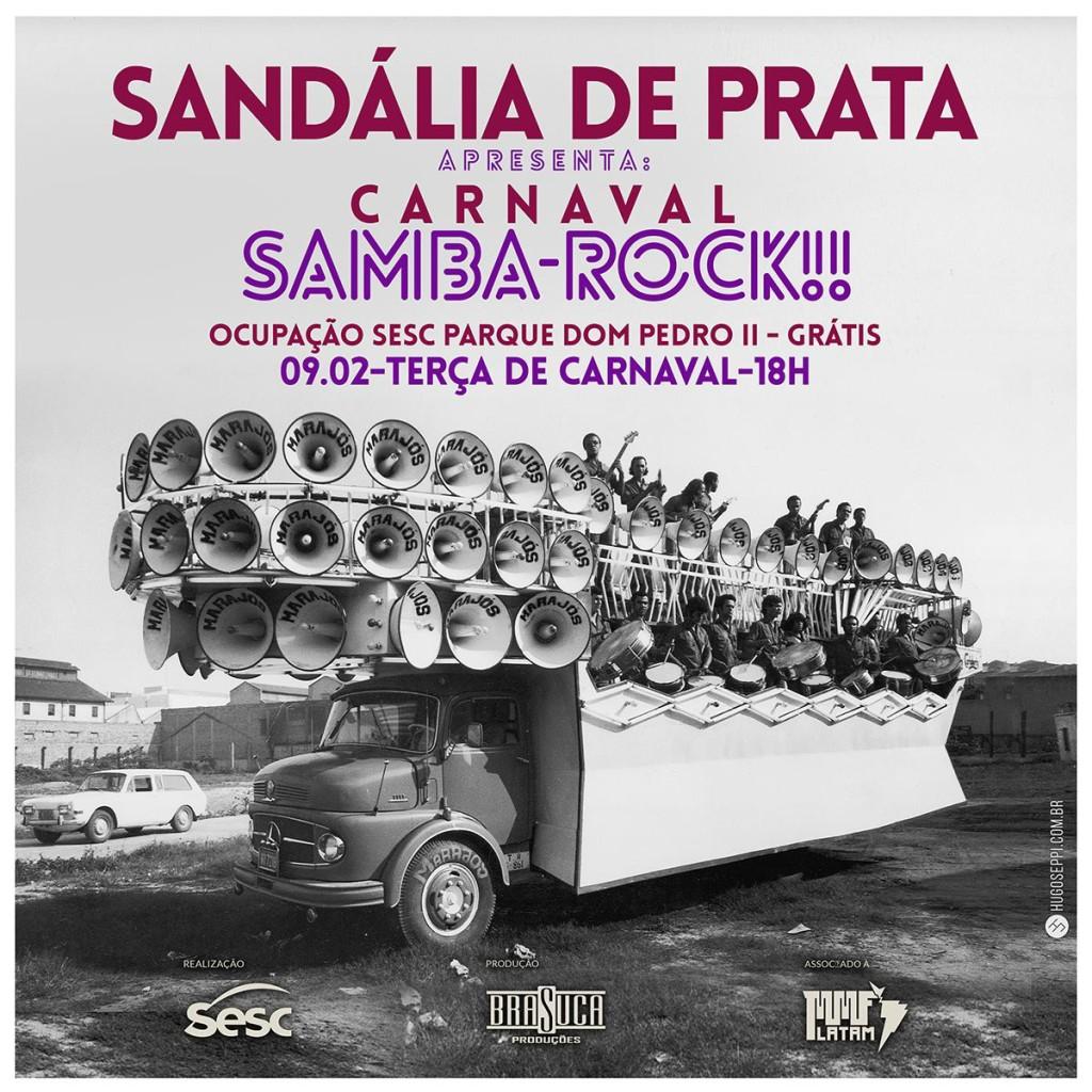 Sandália de Prata apresenta Carnaval Samba Rock no centro de SP de graça #nota