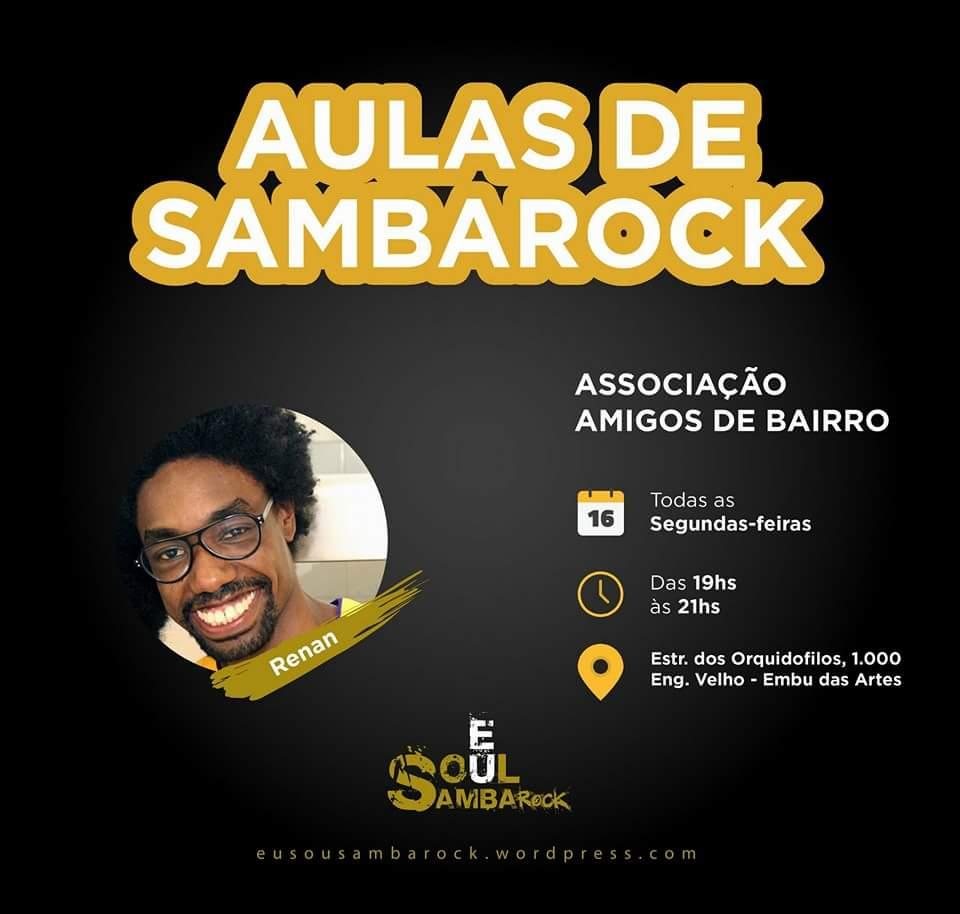Coletivo Eu Soul Samba Rock promove aulas de dança em Embu das Artes #nota