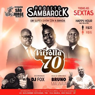 Projeto Samba Rock no Estação São Jorge às sextas #nota
